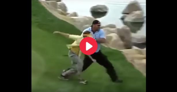 Bill Goldberg Sends Heckler Flying in Hilarious, Forgotten Clip