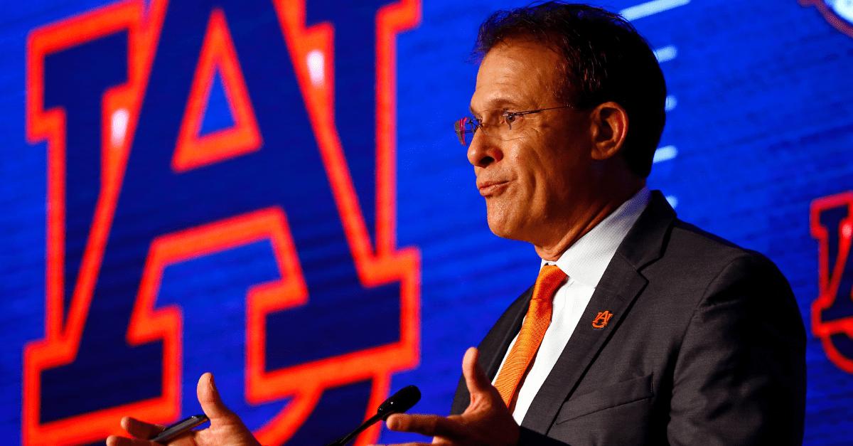 Pressure to Win? Yeah, Auburn's Gus Malzahn Feels the Heat
