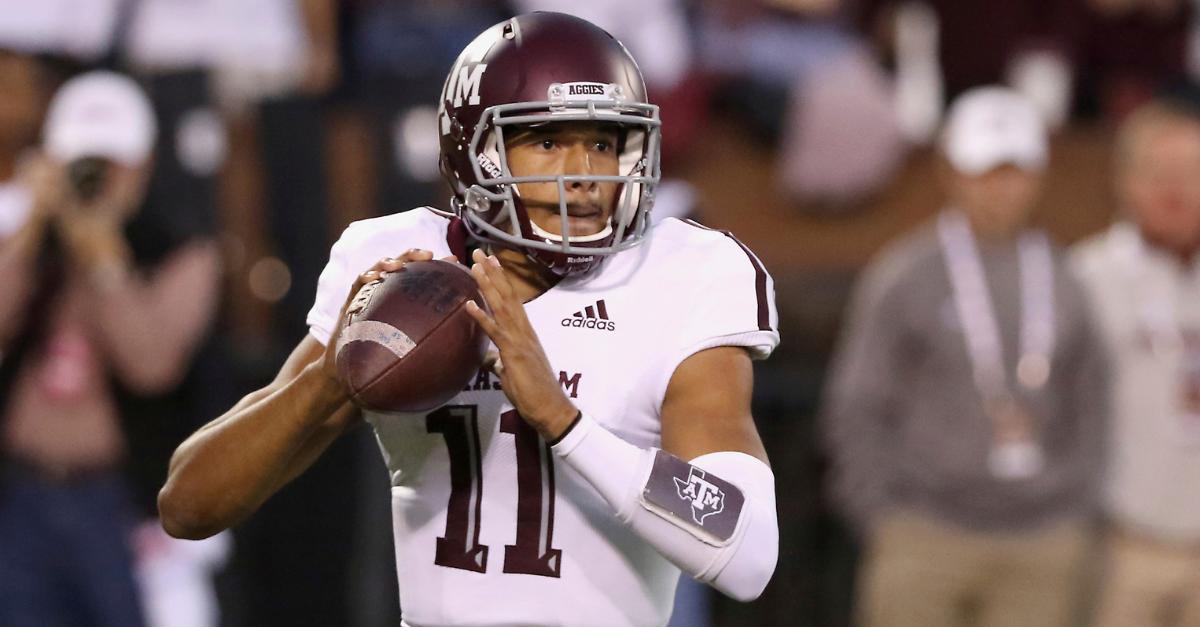 Kellen Mond: 'I'm the Best' Quarterback in the SEC