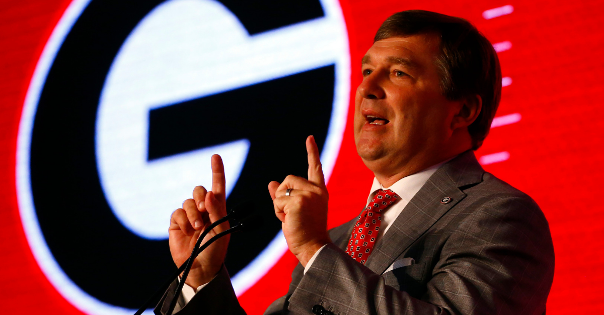 Kirby Smart Oddly Compares Jake Fromm to a Florida Gators Legend