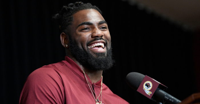 """Landon Collins Says He'd """"Run-Over"""" Giants GM When He Sees Him Again"""