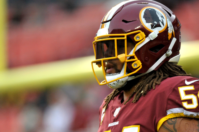 Redskins Cut Leading Tackler 1 Day Before Camp, Which Makes No Sense