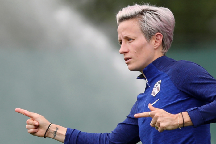 "Megan Rapinoe Responds to Critics: ""I'm Extremely American"""