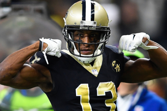 Saints' Michael Thomas Becomes NFL's First $100 Million Receiver