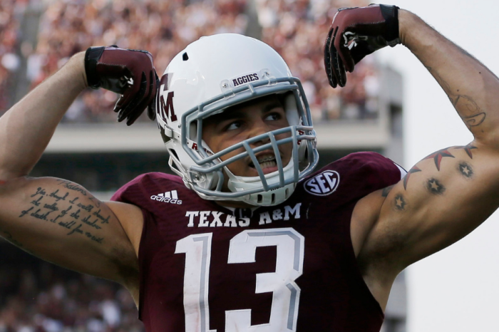 Mike Evans Donates $40,000 in Scholarships to Texas A&M University