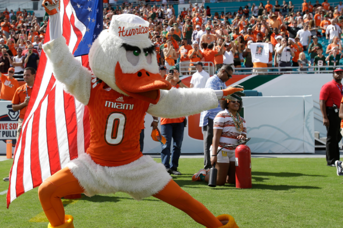 The Strange History Behind the Miami Hurricanes Bird Mascot