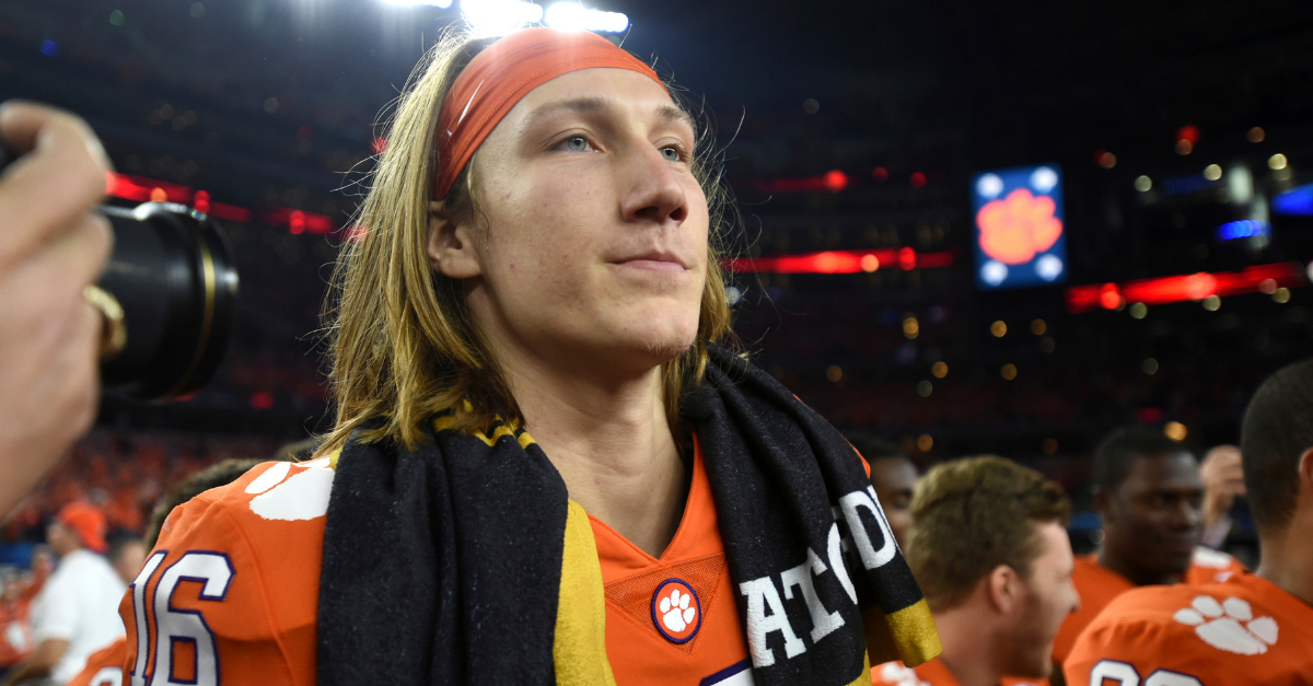 "Trevor Lawrence Calls Paul Finebaum ""Unprofessional"" for Latest Rant"