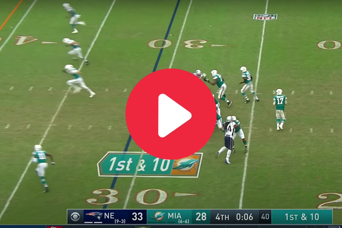 "The ""Miracle in Miami"" Ranks as One of the Greatest Plays in NFL History"