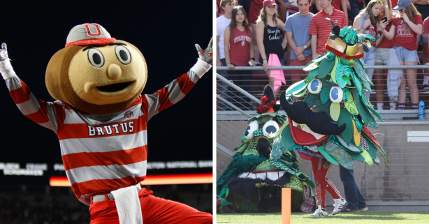 What Are The Most Bizarre College Mascots?