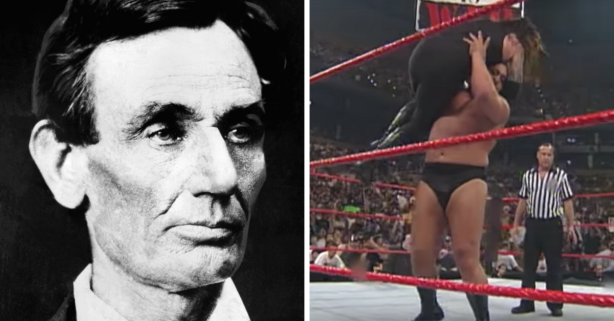 Abraham Lincoln Invented Pro Wrestling's Chokeslam