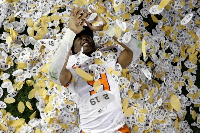 Clemson's Confetti Shower Broke NCAA Rules, Apparently
