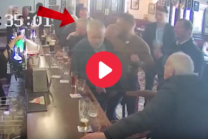 WATCH: Conor McGregor Sucker Punches Old Man for Refusing Free Whiskey