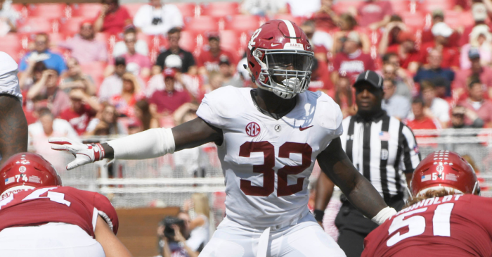 Back to 'Bama: Alabama Star LB Returning to Tide in 2020