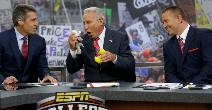 ESPN Caves on Controversial College GameDay Sign Rules at Disney