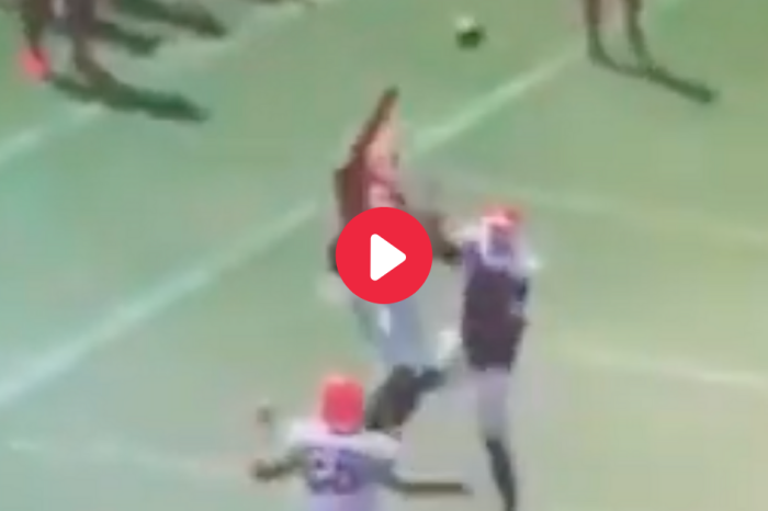 Georgia Freshman Made a One-Handed Catch You Have to See to Believe