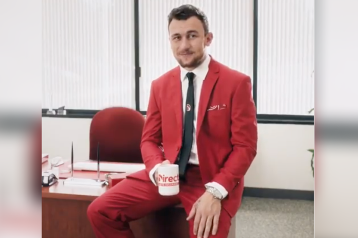 Did Johnny Manziel Just Retire Using an Insurance Commercial?