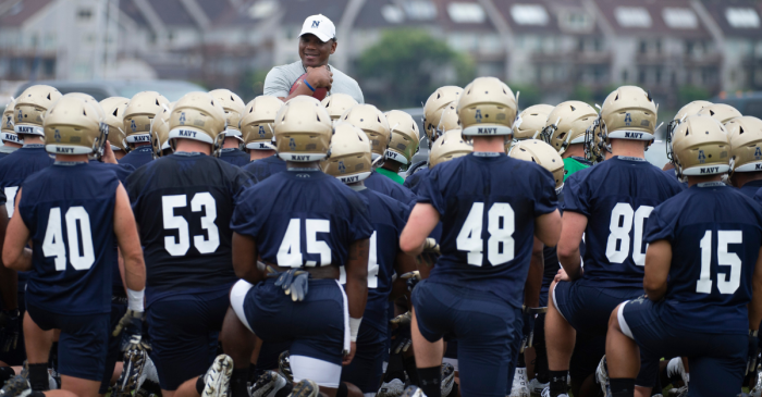"Navy Football Drops ""Insensitive"" Team Motto Referring to Guns"