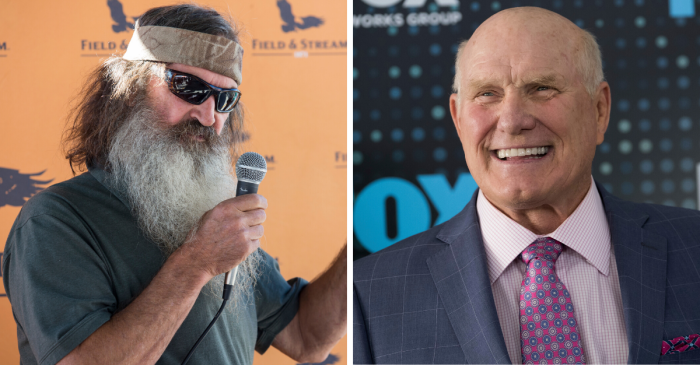 Duck Dynasty's Star Was a College QB, And Terry Bradshaw Backed Him Up