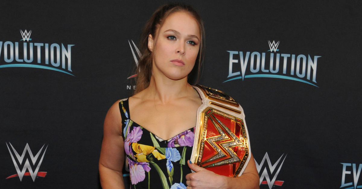 Ronda Rousey Killed WWE's All-Women's PPV Without Lifting a Finger