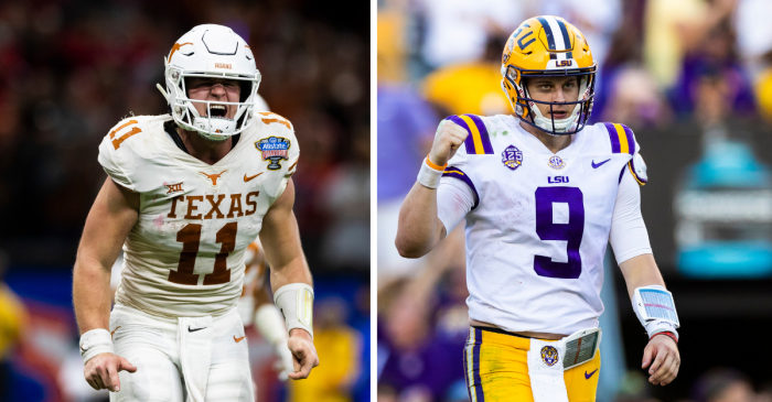 Texas vs. LSU is College Football's Most In-Demand Ticket of 2019