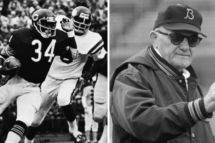 Walter Payton, George Halas Finally Get Statues at Chicago's Soldier Field