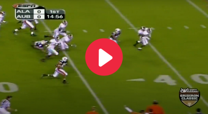 Cadillac Williams' 80-Yard TD Opened 2003 Iron Bowl in Style