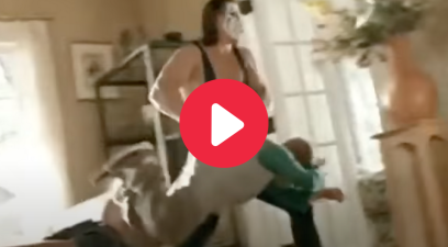 Sting Wrestles Young Kid in Classic Sprite Commercial
