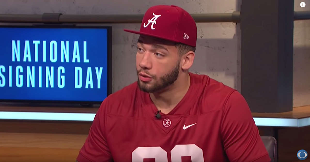 Antonio Alfano, Alabama's No. 1 Recruit, Enters NCAA Transfer Portal