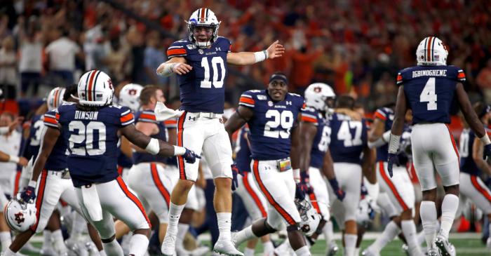 AP Top 25: Auburn Climbs to No. 10 After Week 1 Comeback