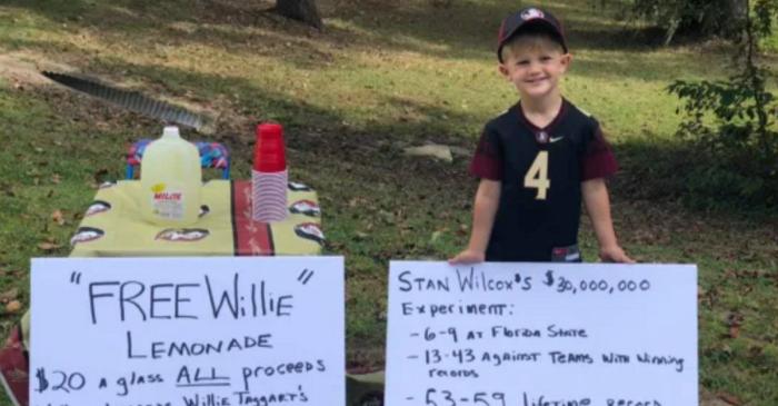 FSU Boy's Viral Lemonade Stand Causes Uproar, Threats on Family