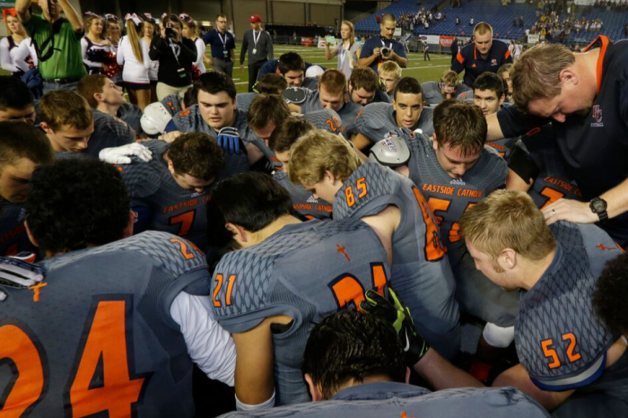 Chaplain Told to Stop Praying With Football Players Before, After Games