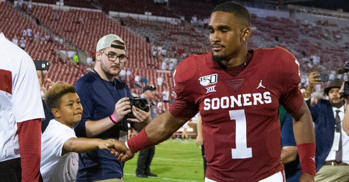 Alabama Stars Praise Jalen Hurts After Incredible Oklahoma Debut