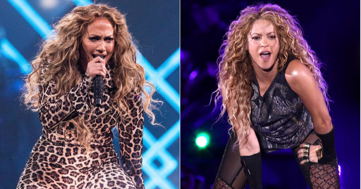 Jennifer Lopez, Shakira to Perform at 2020 Super Bowl Halftime Show