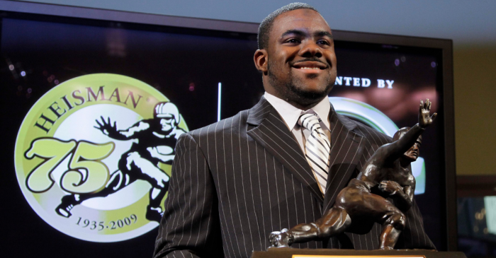 10 Years Ago, Mark Ingram Stole the Heisman Trophy From Toby Gerhart