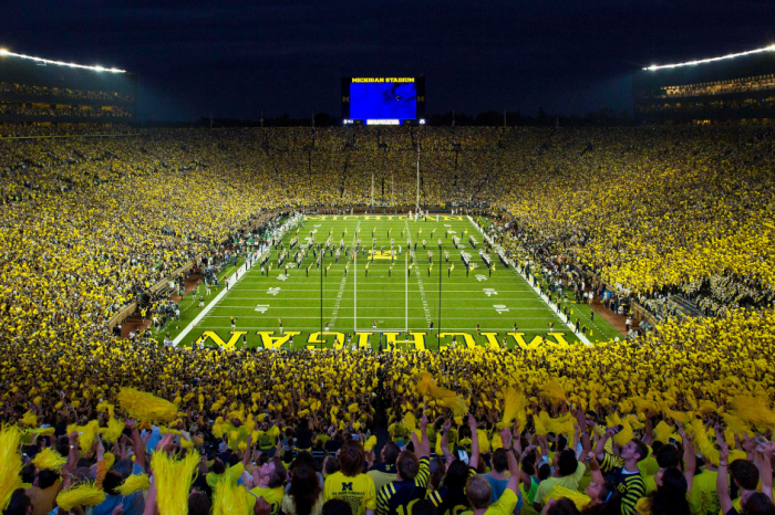 Police Arrest 2 People for Flying Drone Over Michigan Stadium