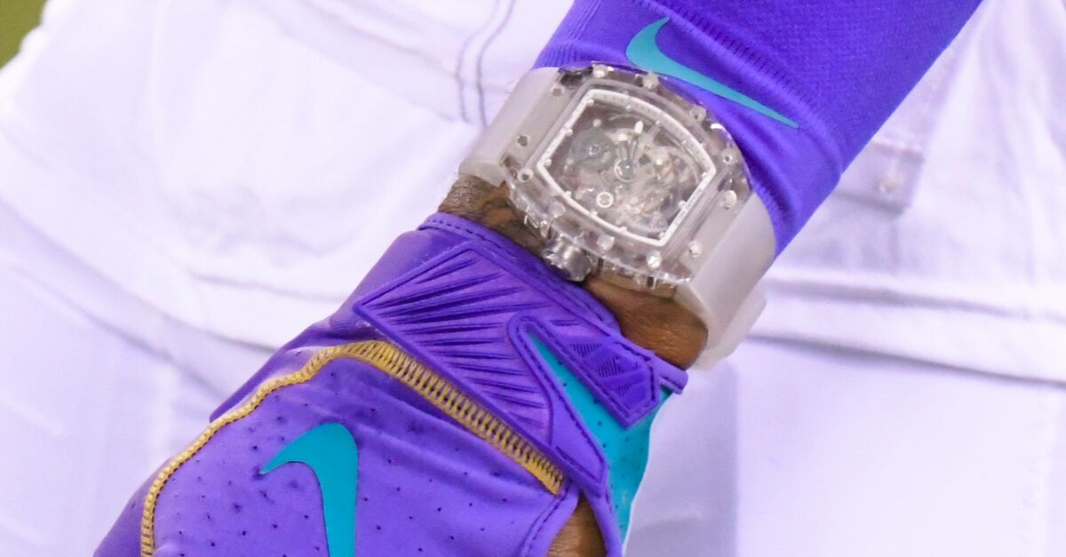 Odell Beckham Jr. Wears Unreal $2 Million Watch During MNF Warmups