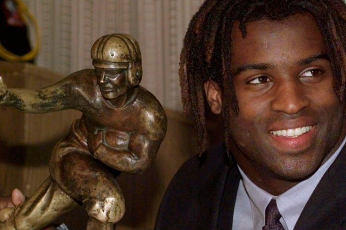 Ricky Williams' 1998 Heisman Trophy is For Sale at Auction