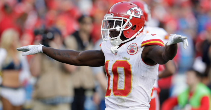 Months After Scandal, Chiefs Give Tyreek Hill $54 Million Extension