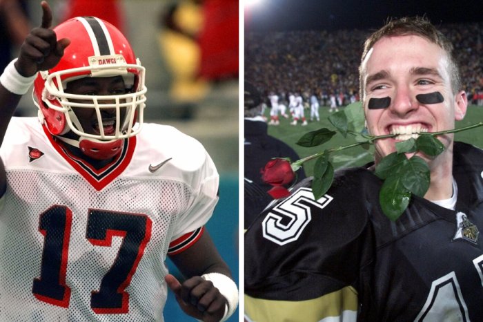 Never Forget UGA's Quincy Carter Once Out-Shined Drew Brees
