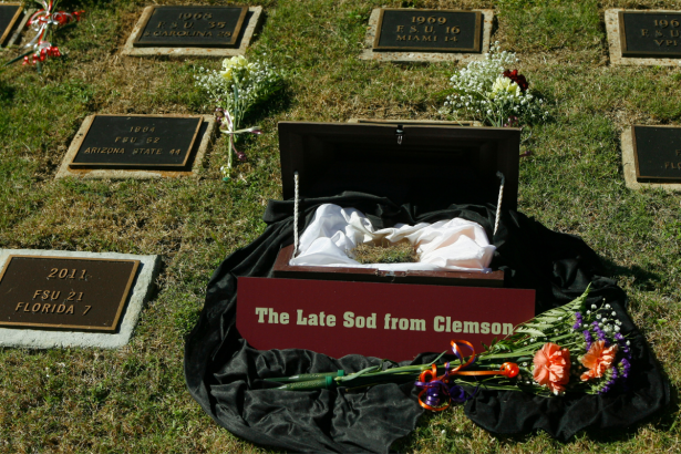 """FSU's """"Sod Cemetery"""" is an Untouchable College Football Tradition"""