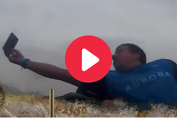 Hero Saves Stranger's Phone from Falling Off Roller Coaster
