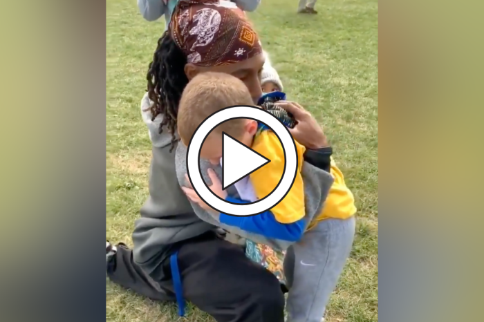 6-Year-Old Boy Cries While Thanking Youth Football Coach in Viral Video