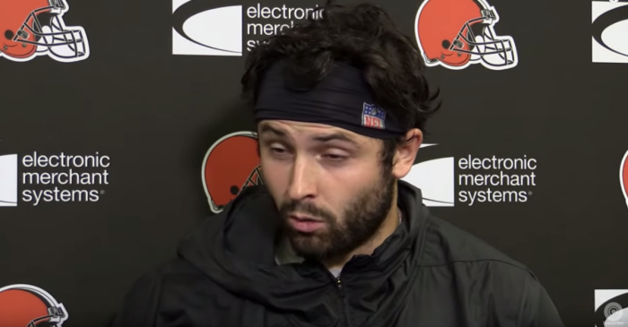 Baker Mayfield Has All-Time Meltdown, Storms Out of Press Conference