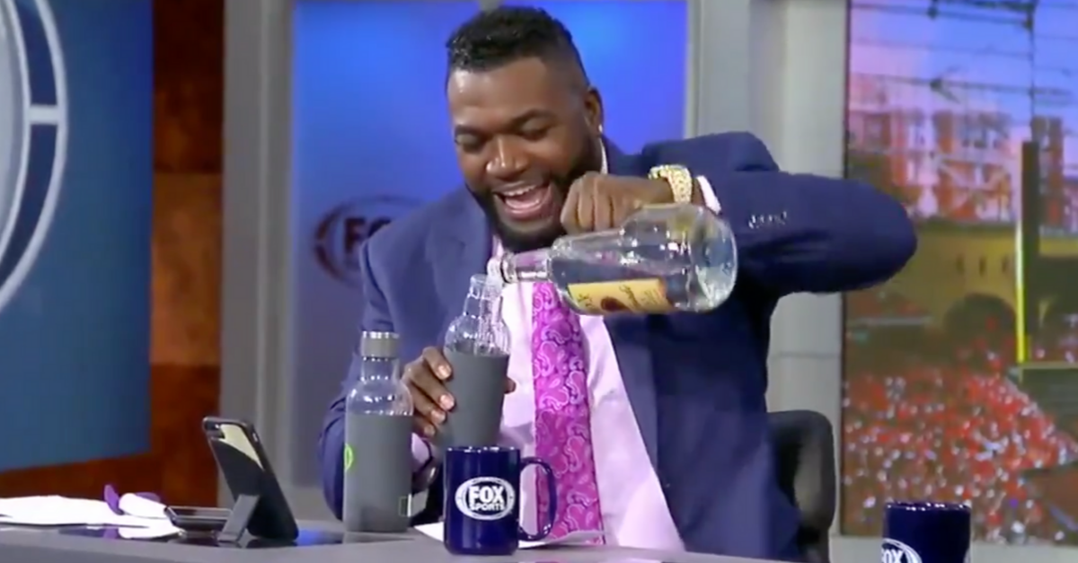 David Ortiz's Vodka Prank Took Frank Thomas by Complete Surprise