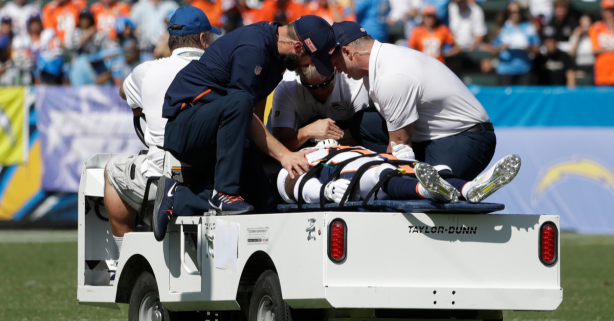 """Head-On Collision Left NFL Player """"Paralyzed for 30 Minutes"""""""