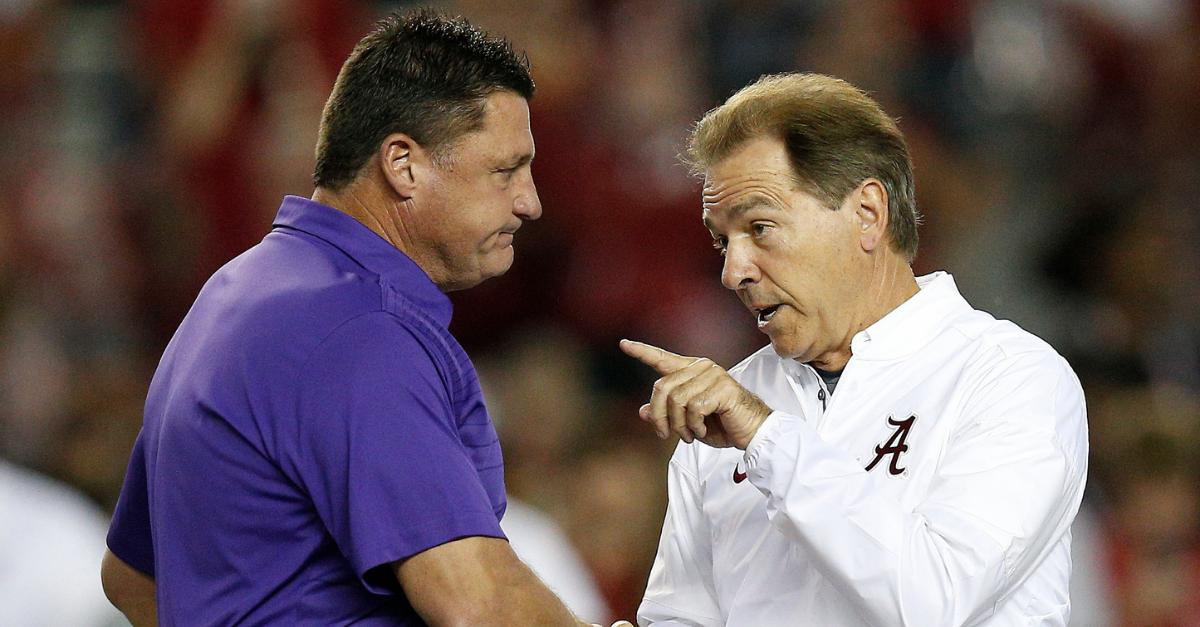 SEC Announces Kickoff Time for Alabama-LSU Showdown