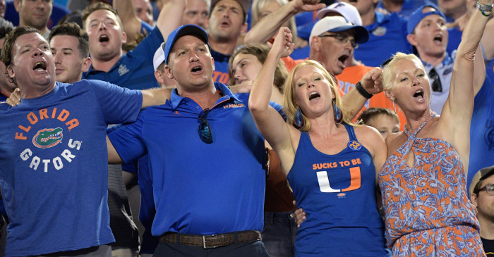 UF's 'We Are The Boys' Tradition Gives Gator Fans Chills