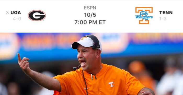 Georgia vs. The Lady Vols? ESPN's Mistake Sends Fans Into Frenzy