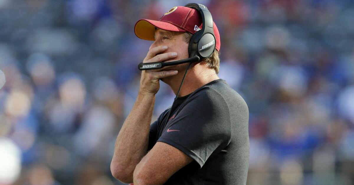 Redskins Fire Jay Gruden After Horrible 0-5 Start