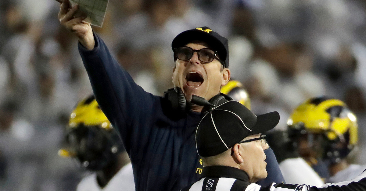 Jim Harbaugh Writes Mass Email, Denies Claim He's Leaving Michigan